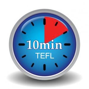 10 minute TEFL Teacher